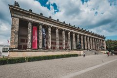 The Altes Museum / Old Museum at Museum Island in Berlin, Mitte stock images