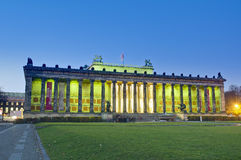 Altes Museum (Old Museum) at Berlin, Germany. Altes Museum (Old Museum) located on Museum Island, a UNESCO-designated World Heritage Site on Berlin, Germany stock photo
