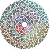 Altes Muster. Vektorillustration Stockbild
