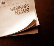 Altes Nachrichtenpapier lizenzfreies stockbild