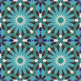 Altes nahtloses Marokko-Muster Stockfotos