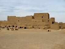 Altes Narin-Schloss in Meybod, Yazd-Provinz, der Iran Stockfotografie