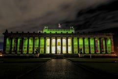Altes Nationaal Museum, Berlijn Stock Afbeeldingen
