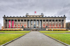 Altes nationellt museum, Berlin Royaltyfri Foto