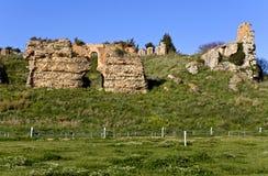 Altes Nicopolis bei Griechenland, stockfotografie