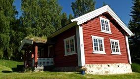 Altes norwegisches Gebäude Lizenzfreie Stockbilder
