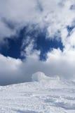 Altes Observatorium auf die Oberseite des Berges Stockfoto