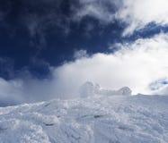 Altes Observatorium auf die Oberseite des Berges Lizenzfreie Stockbilder