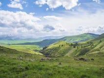 Altes Observatorium von Zorats Karer, Karahunj, berühmter Armenian Stonhenge in Sisian, Armenien 26 lizenzfreies stockfoto