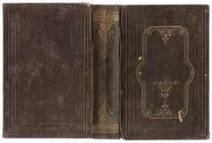 Altes offenes Buch Stockbilder