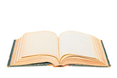 Altes offenes Buch Lizenzfreies Stockfoto