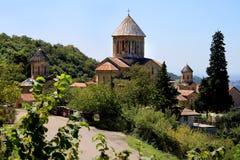 Altes orthodoxes Gelati-Kloster stockbilder
