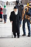 Altes ortodox jüdisch Stockbilder