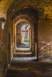 Altes ostia in Rom Stockbild