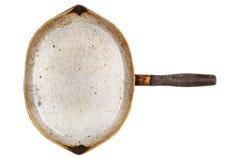 Altes ovales Pan Stockbilder