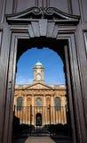Altes Oxford-College lizenzfreies stockfoto