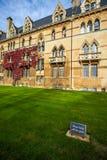 Altes Oxford-Gebäude Lizenzfreie Stockfotos
