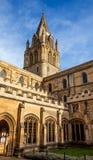 Altes Oxford-Gebäude Lizenzfreies Stockfoto