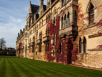 Altes Oxford-Gebäude stockbild