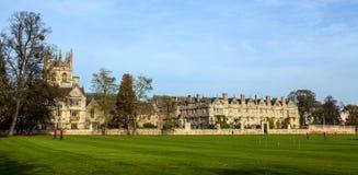 Altes Oxford-Gebäude lizenzfreie stockfotografie