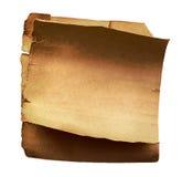 Altes Papier Stockfoto