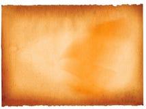 Altes Papier auf Weiß stock abbildung