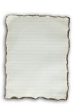 Altes Papier des Brandes Lizenzfreie Stockbilder