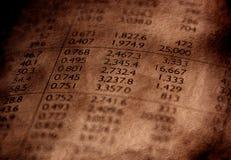 Altes Papier für Hintergrund Lizenzfreie Stockfotografie