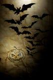 Altes Papier Halloween des Hintergrundes Lizenzfreies Stockbild