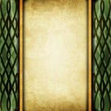 Altes Papier mit keltischem Muster lizenzfreie abbildung