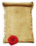 Altes Papier - Rolle Stockbilder