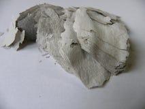 Altes Papier vollständig gebrannt Lizenzfreies Stockbild