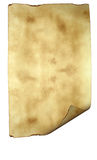 Altes Papierhintergrundpergament Stockfotografie
