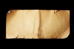 Altes Papierlanges Stockbild