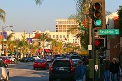 Altes Pasadena, größeres Los Angeles, Kalifornien, USA stockfotos