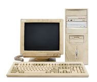 Altes PC-Set Lizenzfreie Stockbilder