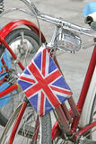 Altes Pedal-Fahrrad lizenzfreies stockbild