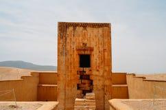 Altes Persepolis-Tor Persepolis war die zeremonielle Hauptstadt des Achaemenid-Reiches Lizenzfreie Stockfotos