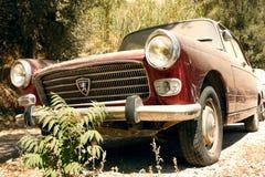 Altes Peugeot 404 Lizenzfreies Stockbild