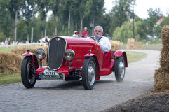 Altes polnisches Auto Lizenzfreies Stockbild