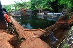 Altes Pool Stockfoto