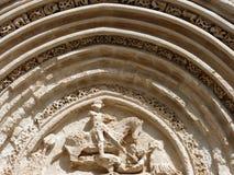Altes Portal von Str. George, Ragusa Ibla. Stockfotos