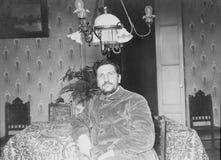 Altes Porträt eines Mannes weinlese Stockfotos
