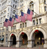 Altes Postgebäude Stockfoto
