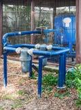 Altes Pumpsystem Lizenzfreie Stockbilder