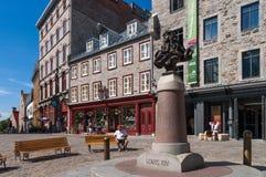 Altes Québec-Stadt, Kanada Stockfotografie