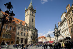 Altes Quadrat, Prag. Stockbilder
