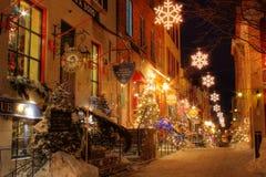 Altes Quebec Stockbild