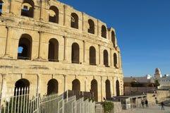 Altes römisches Amphitheater Stockfotos