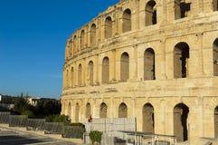 Altes römisches Amphitheater Stockfotografie
